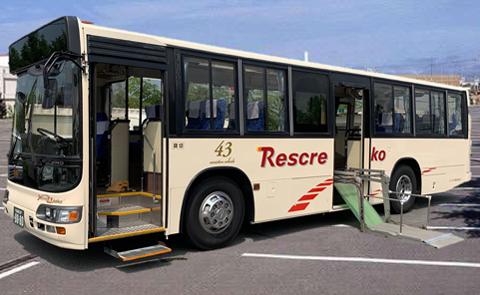 リフト付き送迎バス1